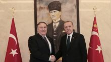 Pompeo meets Erdogan after talks with Saudis on missing journalist