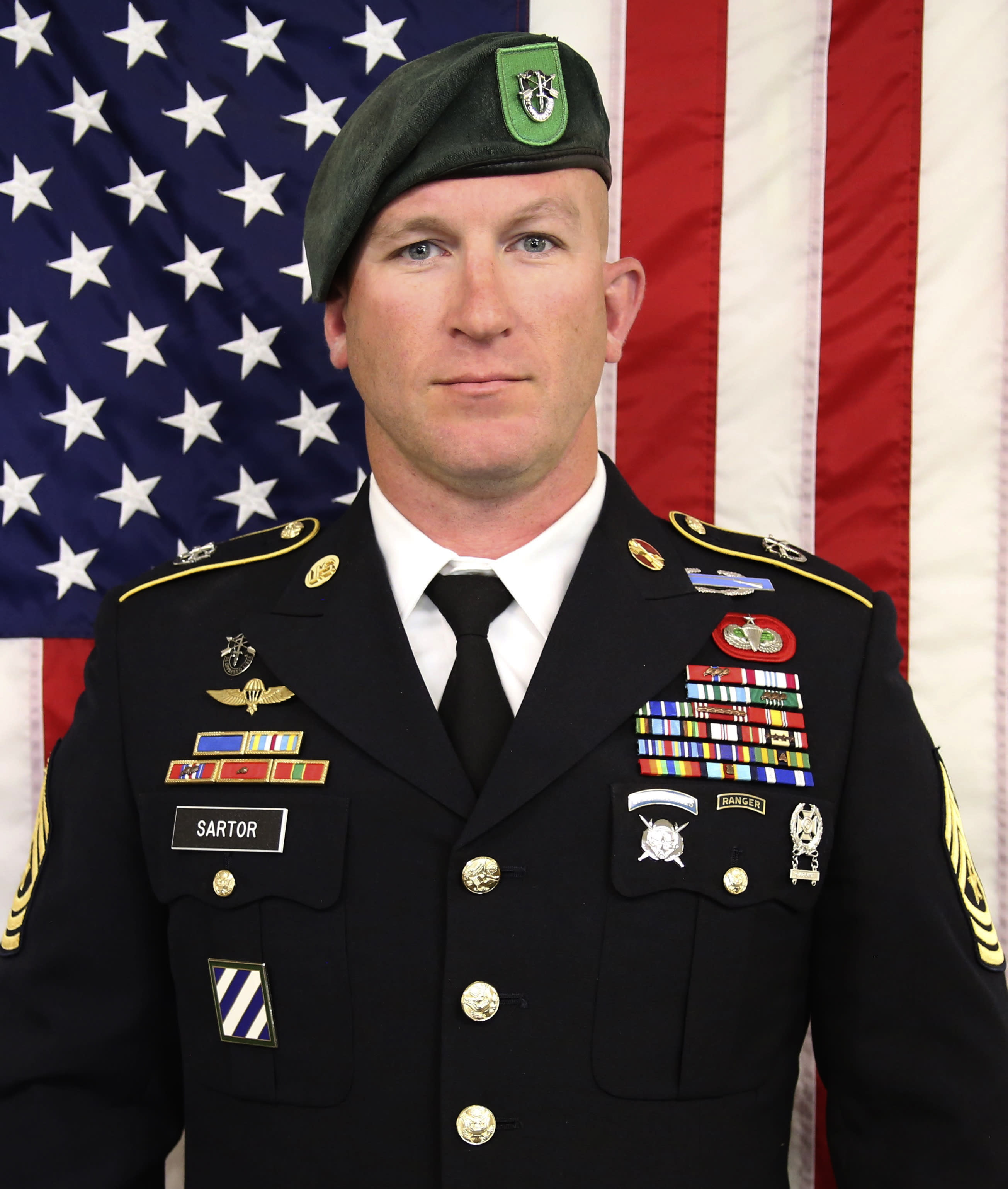 Decorated Green Beret killed in Afghanistan remembered as 'beloved warrior'