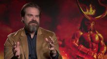 'Hellboy' star David Harbour explains the film's post-credit scenes