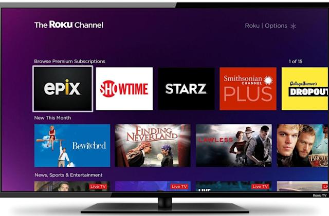 Roku's free movie and TV channel is adding premium subscriptions