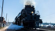 Union Pacific's Big Boy No. 4014 Locomotive Prepares for 'Great Race Across the Midwest'