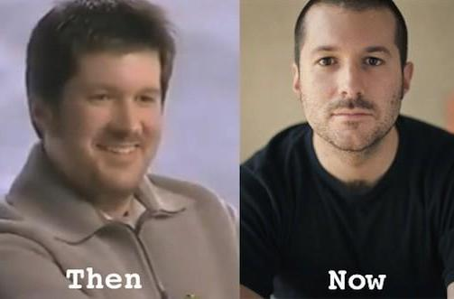 You've come a long way, Jonathan Ive