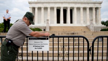 A government shutdown isn't bad for the market
