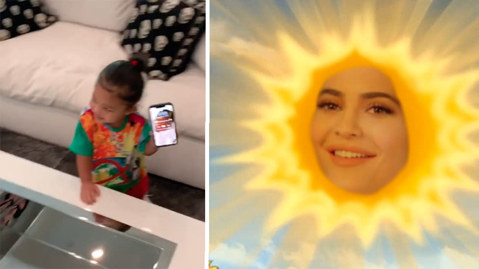 'Dad's music' - Awkward moment Stormi pans Kylie Jenner's 'rise and shine'