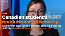 Exclusive: Canadian student's discovery could prevent cancer -- and HIV