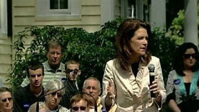 Bachmann Visits NH After Campaign Announcement