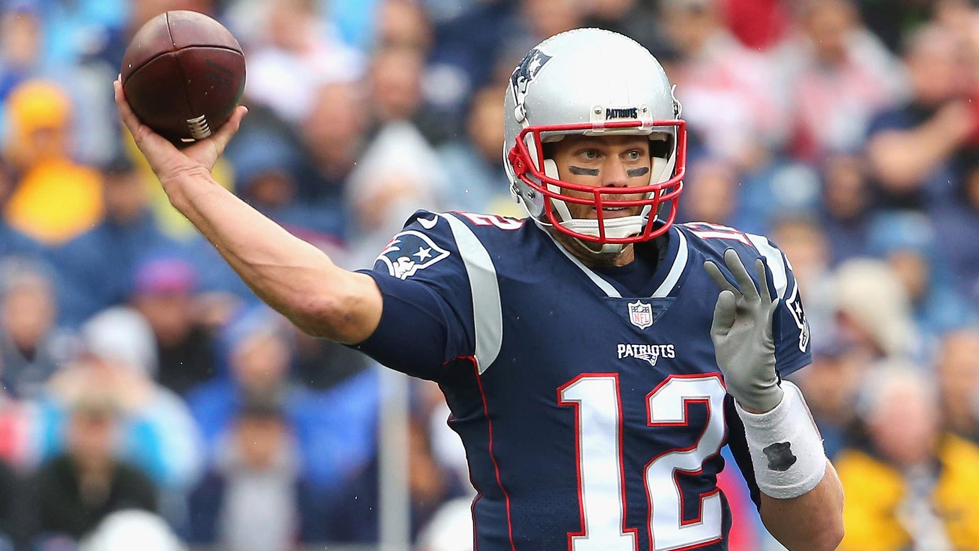 Patriots quarterback Tom Brady may be fantasy dud vs. Bills
