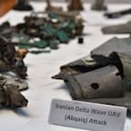 Saudi Arabia shows fragments of drones and cruise missiles as it declares Iran sponsor of attacks