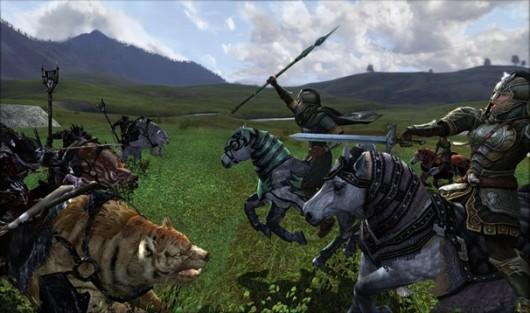 E3 2012: Exploring the freedom of LotRO's Riders of Rohan