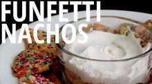 Funfetti Sugar Cookie Nachos Are the Ultimate Super Bowl Food Mashup