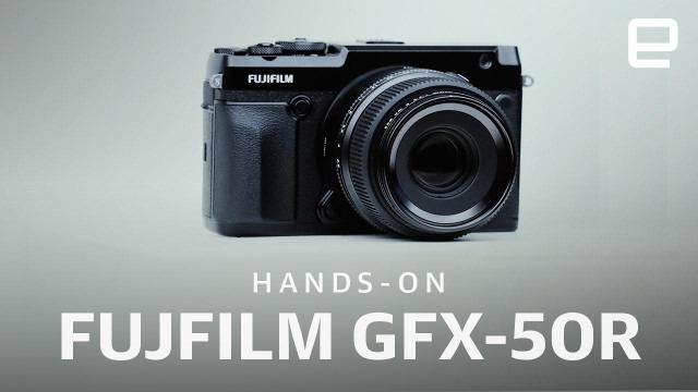 A closer look at Fujifilm's GFX 50R and GFX 100 medium format cameras