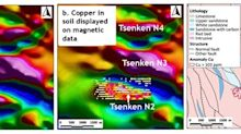 Aurania Reports on the Copper Potential of Geophysical Targets