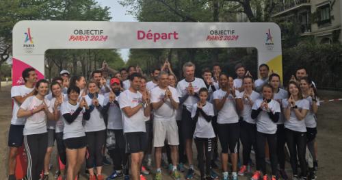Tous sports - Objectif Paris 2024 : une application pour soutenir la candidature de Paris aux JO 2024 en faisant du sport