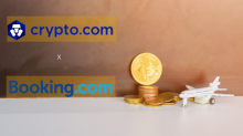 Crypto.com Latest Partnership with Booking.com is a Good Move