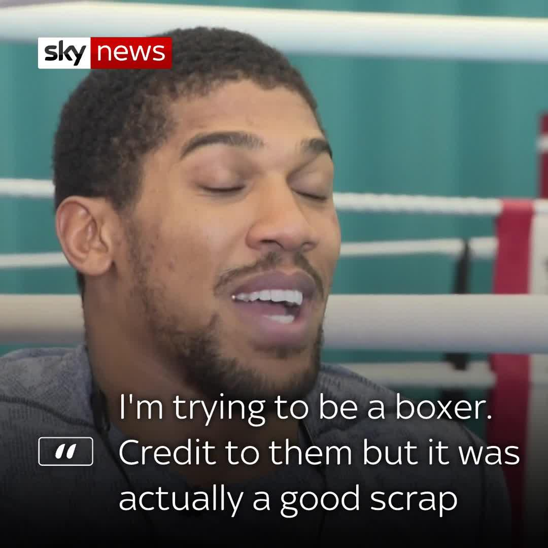 Anthony Joshua On YouTube Scrap, Fury And Povetkin