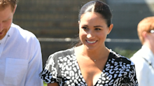 Meghan Markle wears African-made wrap dress for royal tour