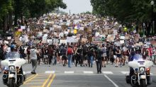 """""""No podemos aguantar mucho más"""", las protestas inundan Washington y otras ciudades de EEUU"""