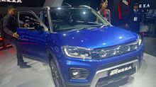 Auto Expo 2020: the new Maruti Vitara Brezza petrol