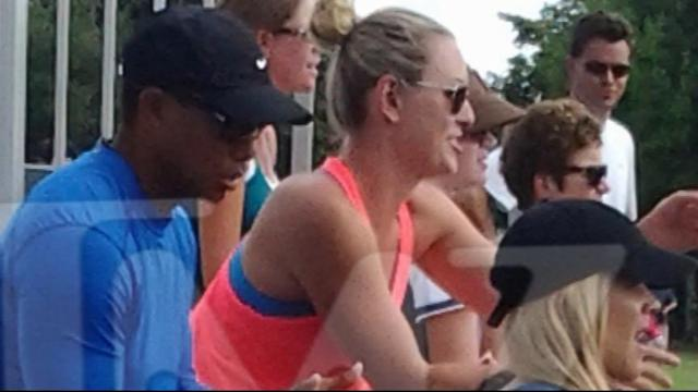 Tiger Woods Photo With Ex-Wife, Girlfriend Gets Attention