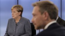The Latest: Schulz: Merkel's mistakes helped nationalists