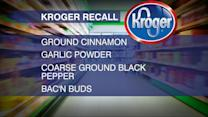 Index: Kroger Spice Recall