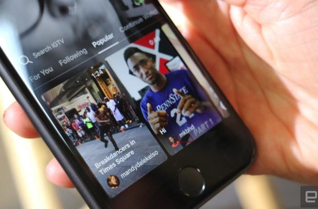Instagram lets IGTV creators send notifications to fans