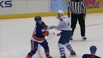 Tim Gleason and Eric Boulton scrap