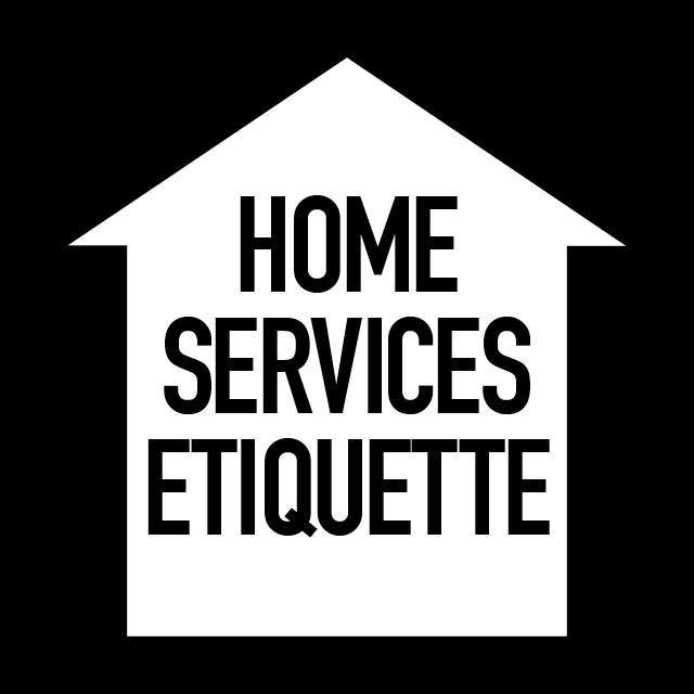 At home etiquette for salon services for About salon services