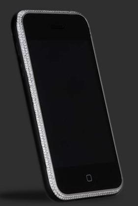Diamond-clad iPhone 3G arrives, no one at all surprised