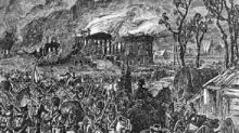 On this day, the British set fire to Washington, D.C