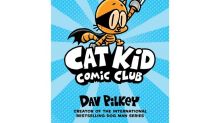 "Dav Pilkey launches new ""Cat Kid Comic Club"" series"
