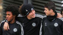 Oscar claims Luiz & Willian want him at Arsenal as former Chelsea stars push for reunion