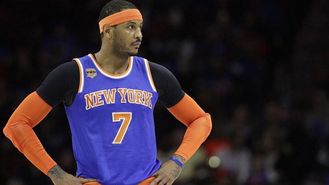 Sources: Knicks trade Carmelo to Thunder