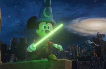 Disney Infinity's lightsaber is an elegant weapon for a civilized age