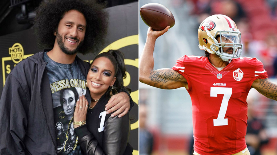 'You cowards': Girlfriend blasts NFL over Colin Kaepernick 'lie'