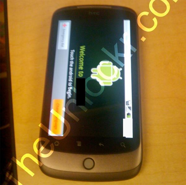 Mysterious HTC Android phone spied, might lean the way of the Dragon