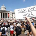 Black Lives Matter: Thousands ignore social-distancing rules in UK to protest at George Floyd death in US