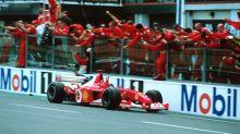 Michael Schumacher's championship 2002 Ferrari F2002 set for auction