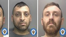 Jailed: Romanian gang who collected 'Aladdin's cave' of stolen goods from hundreds of homes