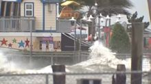 Whoa! Kemah Boardwalk pounded by storm surge