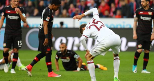 Foot - ALL - Le Bayern Munich accroché sur la pelouse du Bayer Leverkusen