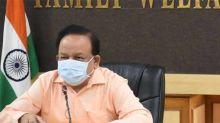 India's COVID-19 doubling rate at 21.8 days: Dr Harsh Vardhan