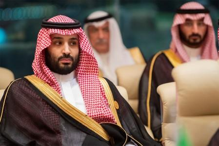 FILE PHOTO: Crown Prince of Saudi Arabia Mohammad bin Salman attends the Gulf Cooperation Council summit in Mecca