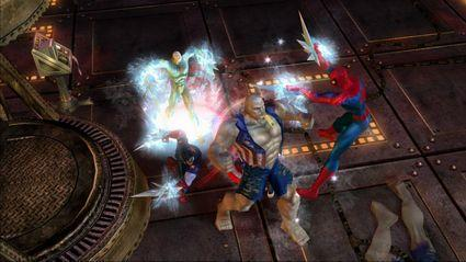 Ultimate Alliance, not so ultimate screens