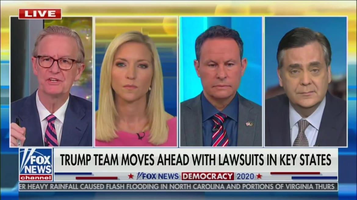 'Fox & Friends' Host Steve Doocy Debunks Trump's Dominion Voter Fraud Conspiracy Pushed by Fox Stars