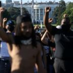 George Floyd protests - live: Tear gas fired at DC protesters as Trump threatens to deploy military across the country