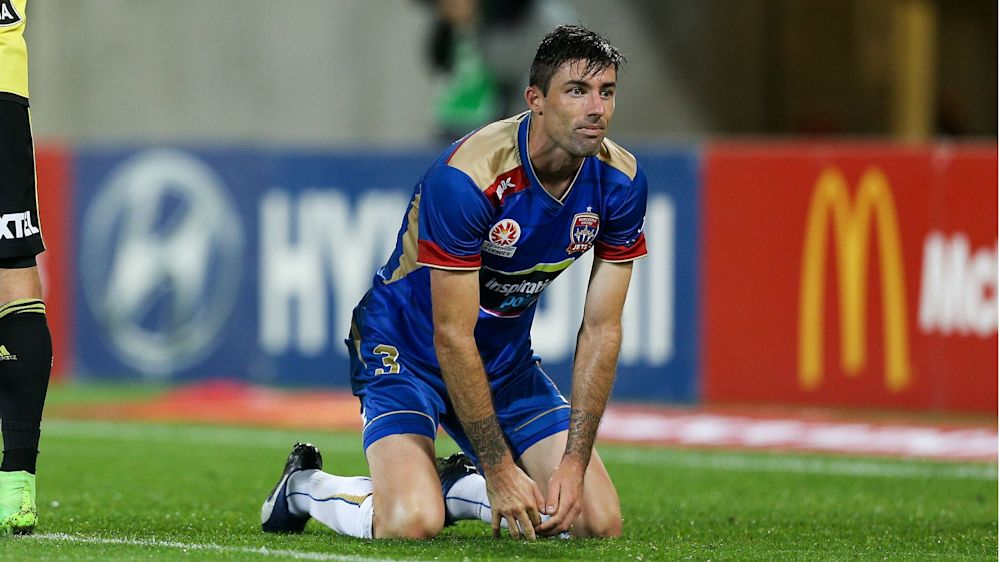 WATCH: Brainfart! Newcastle Jets' Hoffman makes it 4-0 with comedy own goal
