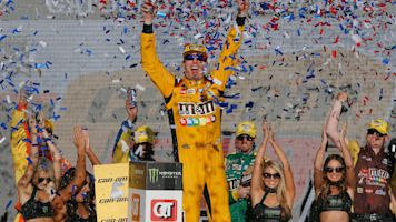 Kyle Busch isn't chasing Richard Petty's record