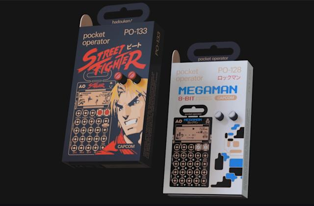 Teenage Engineering is making Capcom-themed pocket synths