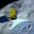 Moon's interior may contain water, study says